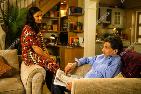 Alone at No.6, Sonia, as played by Sudha Bhuchar, suggests to Sharif Nazir, as played by Marc Anwar, they make the most of the empty house. Will Sharif be able to resist temptation' (Ep 8993 - Monday 19th September 2016)