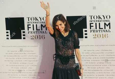 Anne Parillaud French actress Anne Parillaud poses for photographers during the opening ceremony of the Tokyo International Film Festival in Tokyo