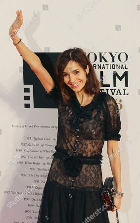 Anne Parillaud French actress Anne Parillaud poses for photographers during the opening ceremony of theTokyo International Film Festival in Tokyo
