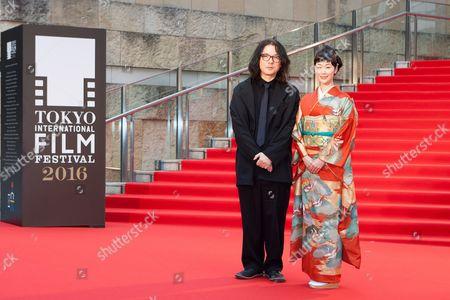 Movie Director, Shunji Iwai, and Festival Muse, Haru Kuroki