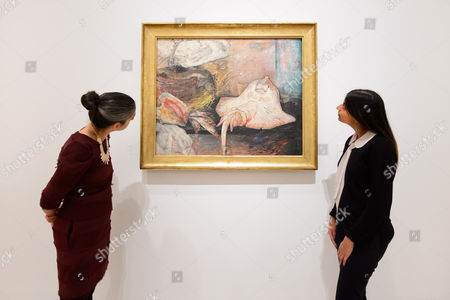 Editorial picture of James Ensor by Luc Tuymans photocall, Royal Academy of Arts, London, UK - 25 Oct 2016