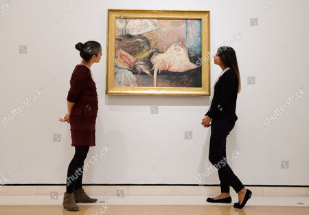 Editorial image of James Ensor by Luc Tuymans photocall, Royal Academy of Arts, London, UK - 25 Oct 2016