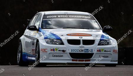 Editorial photo of British Touring Car Championship, Thruxton, Hampshire, UK - 04 Apr 2010