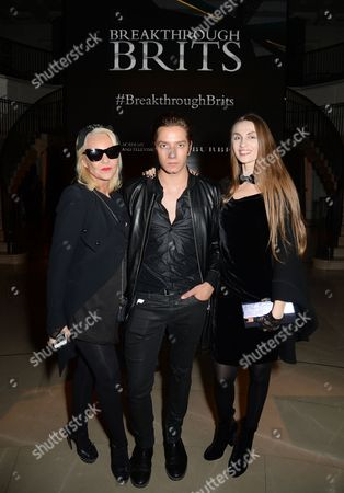 Stock Image of Amanda Eliasch, Tomas Auksas and Inesa De La Roche