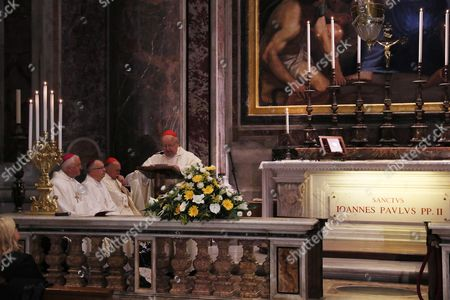Stock Photo of Holy Mass celebrated by Cardinal Stanislaw Dziwisz