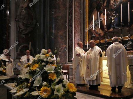 Stock Picture of Holy Mass celebrated by Cardinal Stanislaw Dziwisz