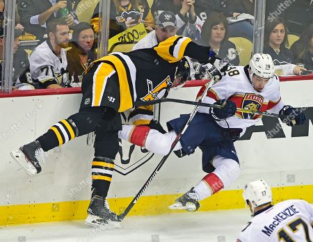 Editorial image of Panthers Penguins Hockey, Pittsburgh, USA - 25 Oct 2016