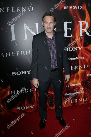 Editorial image of 'Inferno' film premiere, Arrivals, Los Angeles, USA - 25 Oct 2016