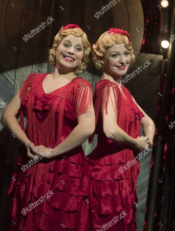 Stock Picture of Louise Dearman as Daisy Hilton, Laura Pitt-Pulford as Violet Hilton