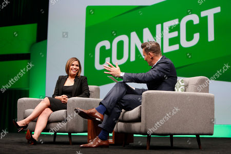 America Ferrera Award-winning actress and businesswoman America Ferrera inspires attendees during a fireside chat with entrepreneur Bill Rancic at the third annual QuickBooks Connect on in San Jose, Calif