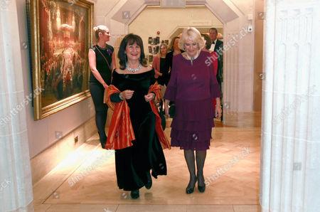 Helena Kennedy and Camilla Duchess of Cornwall