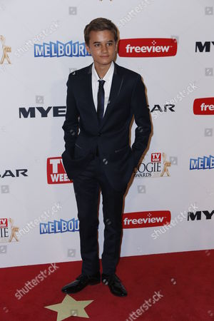 Australian actor Will McDonald arrives for the 2013 Logie Awards at Crown Casino in Melbourne, Australia