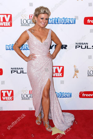 Emily Symons Australian actress Emily Symons from Home and Away arrives for the 2013 Logie Awards at Crown Casino, Melbourne, Australia