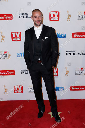 Kris Smith British model Kris Smith arrives for the 2013 Logie Awards at Crown Casino in Melbourne, Australia