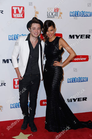 Editorial photo of Australia Logie Awards, Melbourne, Australia