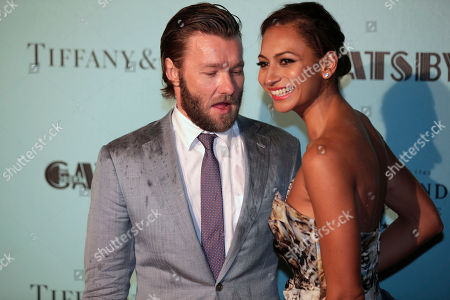 """Stock Picture of Joel Edgerton, Alexis Blake Actor Joel Edgerton, left, arrives with Alexis Blake for the Australian premiere of his latest film """"The Great Gatsby"""" in Sydney on"""