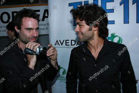 Matthew Cooke and Adrian Grenier