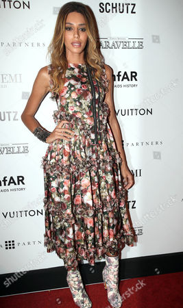 Lea T Brazilian transgender model Lea T. poses in the red carpet of The Foundation for AIDS Research (amfAR) event in Sao Paulo, Brazil