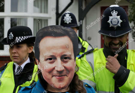 Editorial photo of Britain Cuts Protest, London, United Kingdom