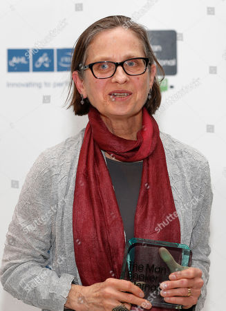 Lydia Davis Lydia Davis of U.S. poses with the trophy after winning the Man Booker International Prize at an award ceremony in London, . The Man Booker International Prize is awarded every two years to a living author who has published fiction either originally in English or whose work is available in translation in the English language