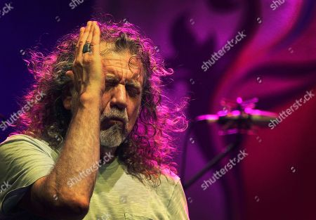 Robert Plant Dated, Robert Plant, lead vocalist and lyricist of the rock band Led Zeppelin, performs during the Timbre Rock and Roots concert in Singapore. In a statement released from Plant spokesman Ken Weinstein, on Wednesday Nov. 12, 2014, Robert Plant says there is no truth to reports he turned down a lucrative offer from Virgin boss Richard Branson to play Led Zeppelin reunion shows