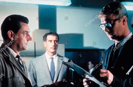 'The Ipcress File' Film -  Guy Doleman, Nigel Green, Michael Caine.