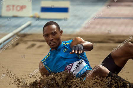 Editorial picture of China Diamond League Track and Field, Shanghai, China