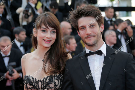 Sophie Desmarais, Jean-Sebastian Courchesne Actors Sophie Desmarais, left, and Jean-Sebastien Courchesne arrive for the screening of Behind the Candelabra at the 66th international film festival, in Cannes, southern France
