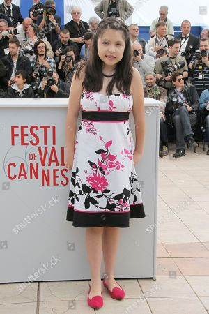 Andrea Vergara Actress Andrea Vergara poses for photographers during a photo call for the film Heli at the 66th international film festival, in Cannes, southern France
