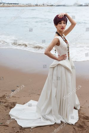 Eva Huang Actress Eva Huang poses for portraits at the 66th international film festival, in Cannes, southern France