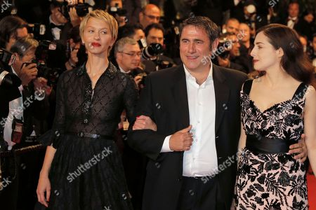 Delphine Chuillot, Sergi Lopez, Amira Casar From left, actors Delphine Chuillot, Sergi Lopez and Amira Casar arrive for the screening of the film Michael Kohlhaas at the 66th international film festival, in Cannes, southern France