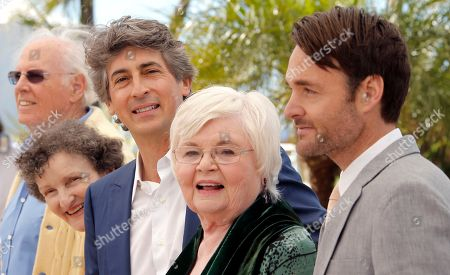 Bruce Dern, Angela McEwan, Alexander Payne, June Squibb, Will Forte From left, actors Bruce Dern, Angela McEwan, director Alexander Payne, June Squibb and Will Forte pose during a photo call for the film Nebraska at the 66th international film festival, in Cannes, southern France