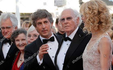 Angela McEwan, June Squibb, Alexander Payne, Bruce Dern, Laura Dern From second left, actors Angela McEwan, June Squibb, director Alexander Payne, actor Bruce Dern and actress Laura Dern arrive for the screening of Nebraska at the 66th international film festival, in Cannes, southern France
