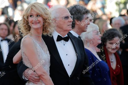 Laura Dern, Bruce Dern, Alexander Payne, June Squibb, Angela McEwan From left, actress Laura Dern, her father actor Bruce Dern, director Alexander Payne and actors June Squibb and Angela McEwan arrive for the screening of Nebraska at the 66th international film festival, in Cannes, southern France