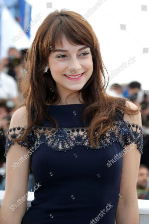 Sophie Desmarais Actor Sophie Desmarais poses for photographers during a photo call for the film Sarah Prefere La Course at the 66th international film festival, in Cannes, southern France