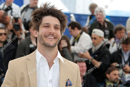 Jean-Sebastien Courchesne Actor Jean-Sebastien Courchesne poses for photographers during a photo call for the film Sarah Prefere La Course at the 66th international film festival, in Cannes, southern France