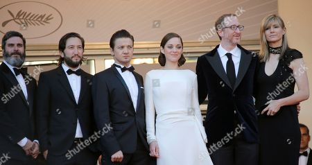 Greg Shapiro, Jeremy Renner, Marion Cotillard, James Gray, Ali Gray, Anthony Katagas From left, producers Anthony Katagas, Greg Shapiro, actors Jeremy Renner, Marion Cotillard, director James Gray and his wife Ali Gray arrive for the screening of the film for the screening of The Immigrant at the 66th international film festival, in Cannes, southern France