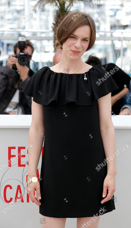 Stock Photo of Annika Kuhl Actor Annika Kuhl poses for photographers during a photo call for the film Tore Tantz at the 66th international film festival, in Cannes, southern France