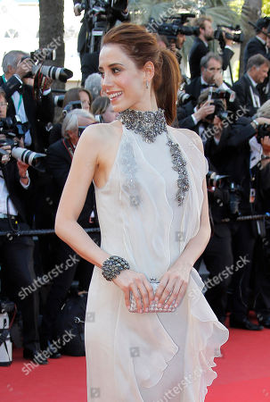 Cansu Dere Model Cansu Dere arrives for the screening of Venus in Fur at the 66th international film festival, in Cannes, southern France
