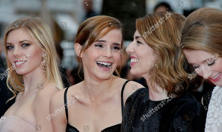 Sofia Coppola, Emma Watson, Claire Julien, Taissa Fariga From left, actors Claire Julien, Emma Watson, director Sofia Coppola and actor Taissa Fariga arrive for the screening of the film Young & Beautiful at the 66th international film festival, in Cannes, southern France