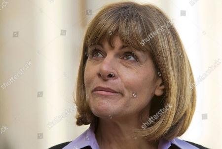 """French nuclear group Areva former CEO and chairwoman of commission """"Innovation 2030"""" Anne Lauvergeon attends a meeting at the Elysee Palace in Paris, France"""