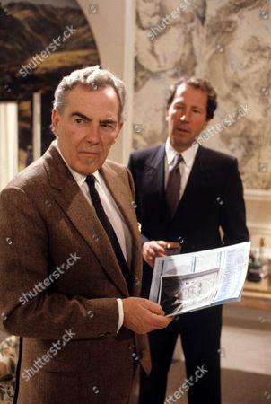 Jack Hedley (left) and Hartmut Becker in 'A Quiet Conspiracy'
