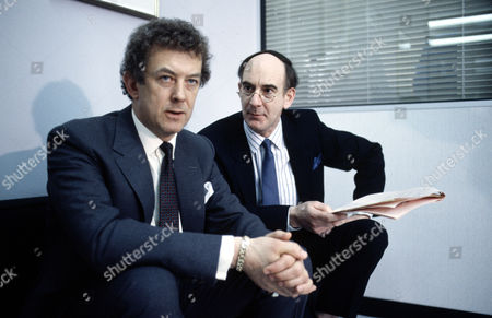 Roy Marsden (left) and Roger Brierley in 'Inside Story'