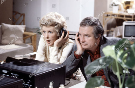 Elaine Stritch and Shane Rimmer in 'Tales Of The Unexpected' - Episode: 'My Lady Love, My Dove'