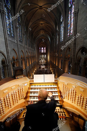 Philippe Lefebvre Philippe Lefebvre, 64, plays the organ at Notre Dame cathedral in Paris. Despite the advances in organ technology, Lefebvre feels the weight of history in his job