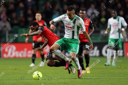 Editorial picture of France Soccer League One, Rennes, France