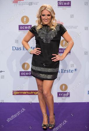 Natalie Horler Singer Natalie Horler of Cascada arrives for the German echo music award ceremony in Berlin, Germany