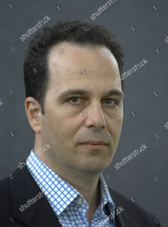 "Stock Photo of Philip Gourevitch an American author and journalist, is the editor of ""The Paris Review"" and a longtime staff writer of ""The New Yorker""."