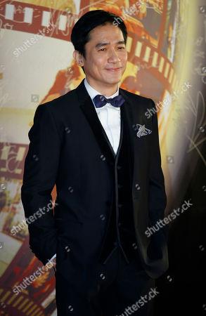 Tony Leung Chiu Wai Hong Kong actor Tony Leung Chiu Wai poses on the red carpet of the 32nd Hong Kong Film Awards in Hong Kong