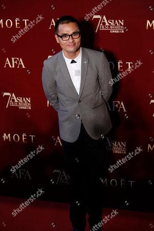 Gordon Lam Ka-tung Hong Kong actor and producer Gordon Lam Ka-tung poses on the red carpet at the Asian Film Awards as part of the 37th Hong Kong International Film Festival in Hong Kong